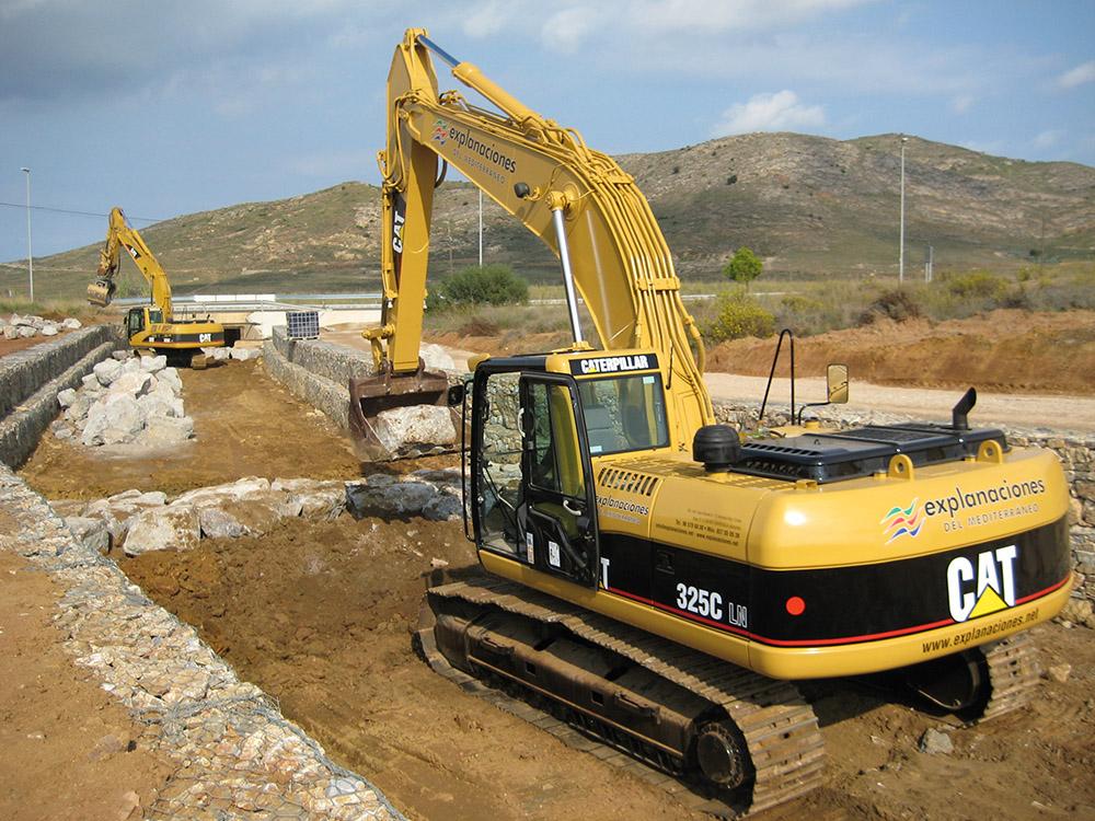 Restauración Canal Llano del Beal (Murcia)