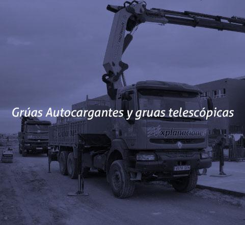 Grúas Autocargantes y gruas telescópicas