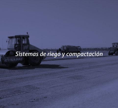 Sistemas de riego y compactación